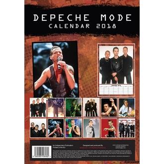 kalendář na rok 2018 DEPECHE MODE, Depeche Mode