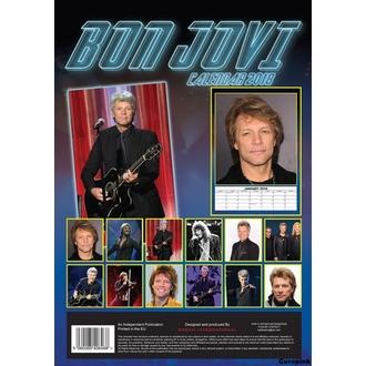 kalendář na rok 2018 BON JOVI, Bon Jovi