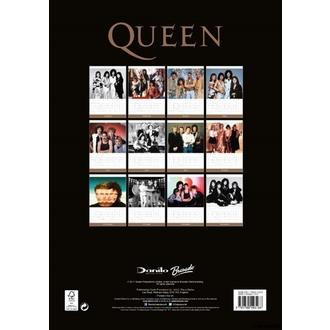 kalendář na rok 2018  QUEEN, Queen