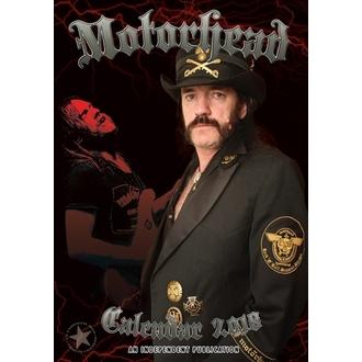 kalendář na rok 2018 Motörhead, Motörhead