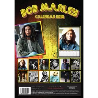 kalendář na rok 2018 BOB MARLEY, Bob Marley