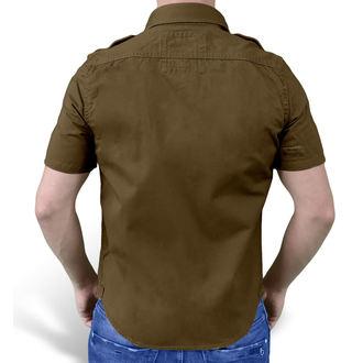 košile SURPLUS - 1/2 Vintage Shirt - HNĚDÁ