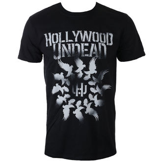 tričko pánské HOLLYWOOD UNDEAD - DOVE GRENADE SPIRAL - PLASTIC HEAD