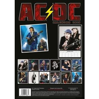 kalendář na rok 2019 - AC/DC, NNM, AC-DC