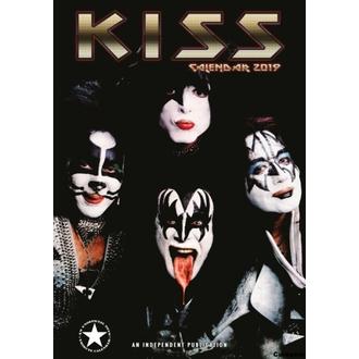 kalendář na rok 2019 - KISS, NNM, Kiss