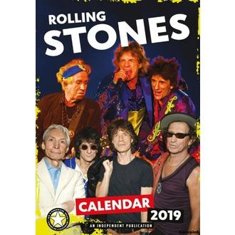 kalendář na rok 2019 - Rolling Stones, NNM, Rolling Stones