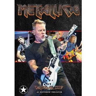 kalendář na rok 2019 - Metallica, NNM, Metallica