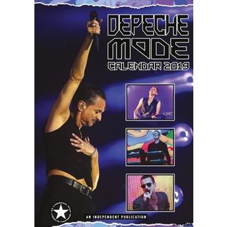 kalendář na rok 2019 - Depeche Mode, NNM, Depeche Mode