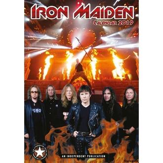 kalendář na rok 2019 - Iron Maiden, NNM, Iron Maiden