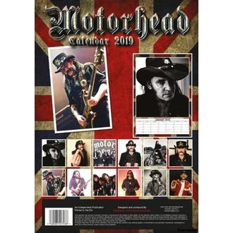 kalendář na rok 2019 - Motorhead, NNM, Motörhead