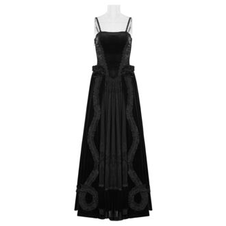 šaty dámské PUNK RAVE - Lady Amaranth Gothic wedding, PUNK RAVE