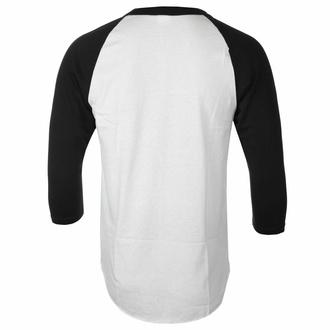 tričko pánské s 3/4 rukávem Red Fang - Fang - White - INDIEMERCH, INDIEMERCH, Red Fang