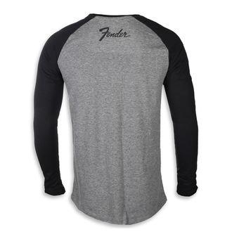 tričko pánské s dlouhým rukávem FENDER, FENDER