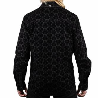 košile pánská WORNSTAR - Amaryllis - Black, WORNSTAR