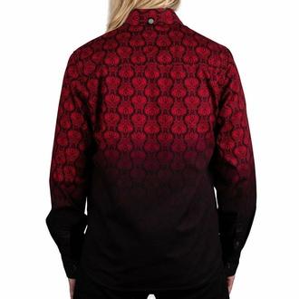 košile pánská s dlouhým rukávem WORNSTAR - Amaryllis - Ruby, WORNSTAR