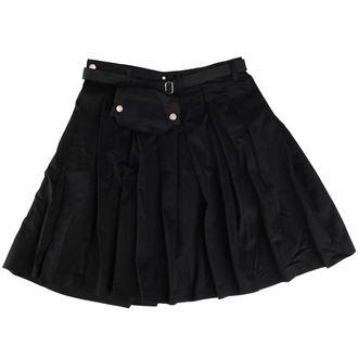 kilt Black Pistol - Short Kilt Denim Black, BLACK PISTOL