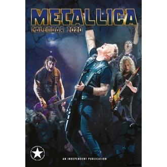 kalendář na rok 2020 - METALLICA - 2020_DRM-016