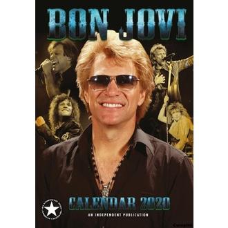 kalendář na rok 2020 - BON JOVI - 2020_DRM-004