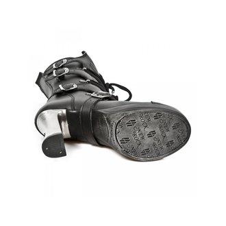 boty dámské NEW ROCK - VEGAN NEGRO ** VEGAN **, PLATAFORMA