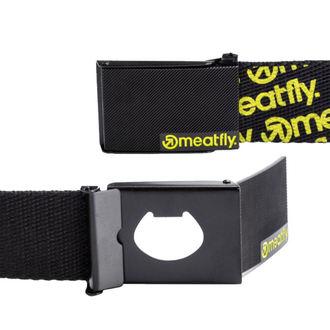 pásek MEATFLY - MAVER C - 1/27/55 - Black/Lime, MEATFLY