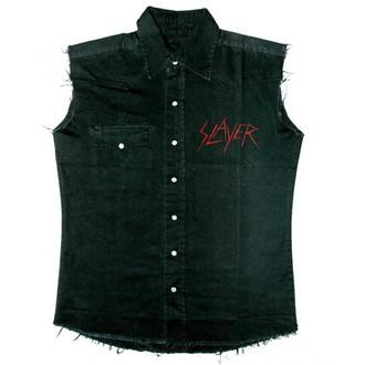 košile pánská bez rukávů (vesta) Slayer - Black Eagle - WS008, RAZAMATAZ, Slayer