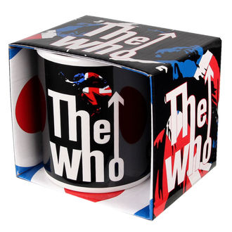 hrnek The Who - Union Jack - ROCK OFF, ROCK OFF, Who