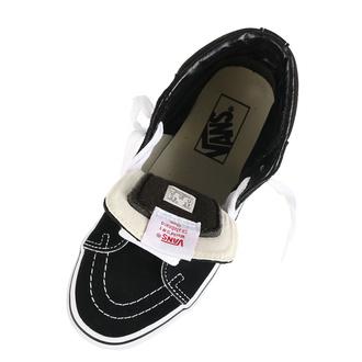 boty VANS - Sk8-Hi - BLACK/BLACK/WHITE - VN000D5IB8C1