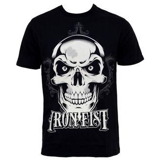 tričko pánské IRON FIST - New Deal Skull - BLACK - IFM0016