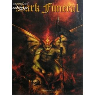 vlajka Dark Funeral - Belial, HEART ROCK, Dark Funeral