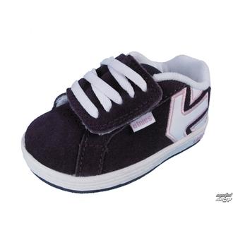 boty dětské ETNIES - Toddler Fader - PURPLE/WHITE
