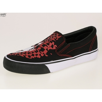 boty DRAVEN - Adicts Jester Slip On - MCAD 005 - BLK - Black