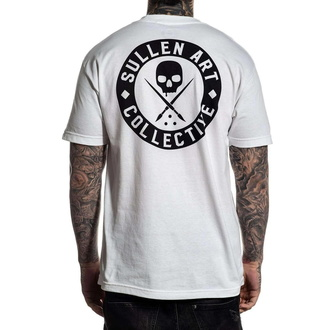tričko pánské SULLEN - CLASSIC - WHITE - SCM3008_WH