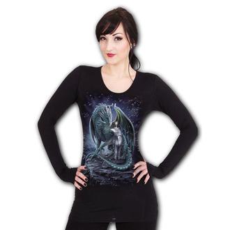 tričko dámské s dlouhým rukávem SPIRAL - PROTECTOR OF MAGIC - Black, SPIRAL