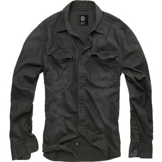 košile pánská BRANDIT - Hardee - Denim - 4018-black