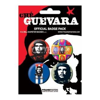 placky Che Guevara - BP80105, PYRAMID POSTERS, Che Guevara