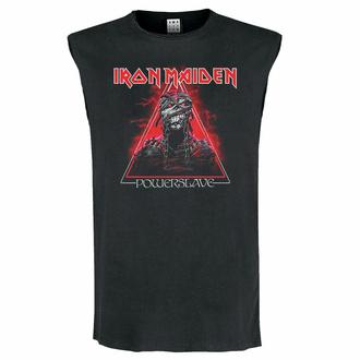 tílko unisex IRON MAIDEN - RED POWERSLAVE - CHARCOAL - AMPLIFIED, AMPLIFIED, Iron Maiden