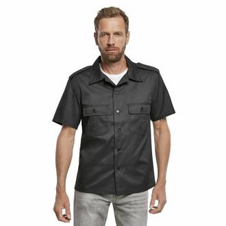 košile pánská BRANDIT - US Hemd 1/2 - 4101-schwarz