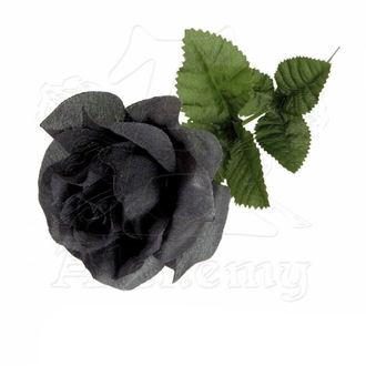 černá růže Black Imitation Rose - Alchemy Gothic, ALCHEMY GOTHIC