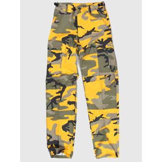 kalhoty pánské US BDU - YELLOW-CAM - 200500_YELLOW-CAM