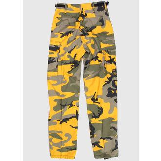 kalhoty pánské US BDU - YELLOW-CAM, BOOTS & BRACES