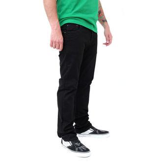 kalhoty pánské (jeansy) VANS - Skinny Overdye PP - BLACK