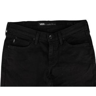 kalhoty pánské (jeansy) VANS - Skinny Overdye PP - BLACK - VK4DOAI