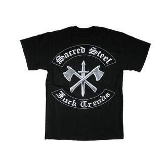 tričko pánské Sacred Steel 'Fuck Trends' - MUSICAT, MUSICAT, Sacred Steel