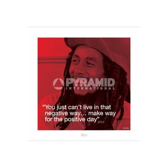 plakát Bob Marley (I.Quote - Positive Day) - Pyramid Posters, PYRAMID POSTERS, Bob Marley