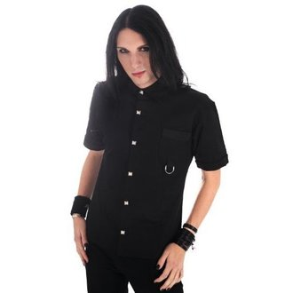 košile pánská Aderlass -  Ring Shirt Denim Black, ADERLASS