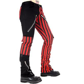 kalhoty pánské Black Pistol -  Freak Pants Stripe  (Black/Red) - B-1-21-319-04