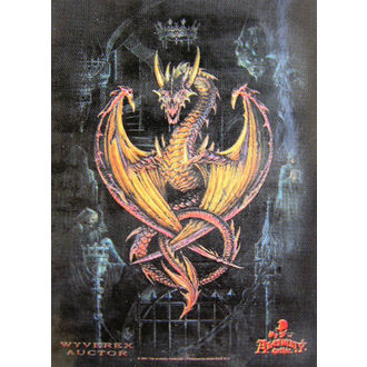 vlajka Achemy Gothic HFL 346, HEART ROCK
