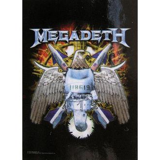 vlajka Megadeth - Eagle, HEART ROCK, Megadeth
