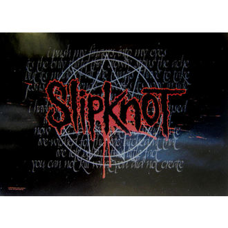 vlajka Slipknot - Splattered, HEART ROCK, Slipknot