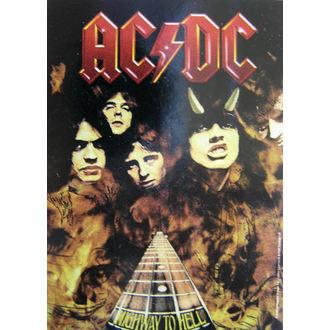 vlajka AC/DC - Highway To Hell, HEART ROCK, AC-DC